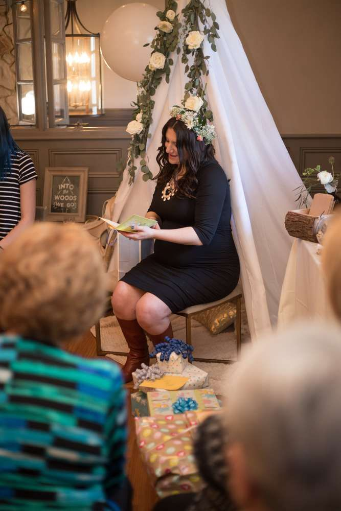 Woodsy/Boho Baby Shower Party Ideas | Photo 1 of 91 | Catch My Party