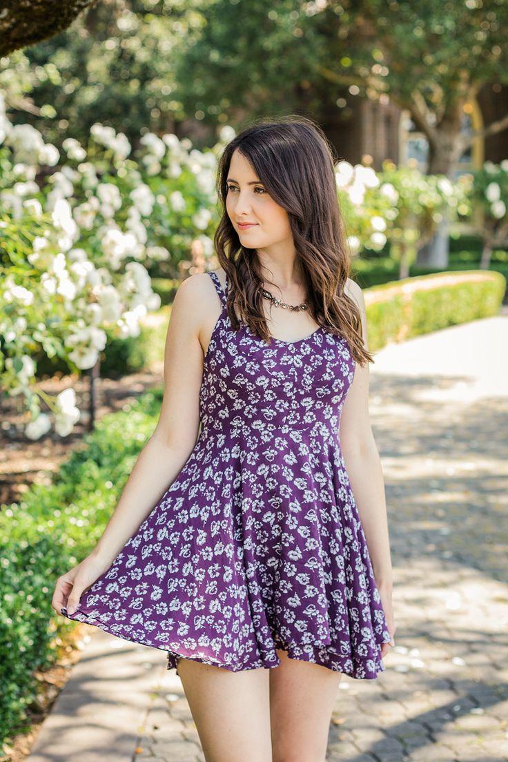 Summer | Wine Tasting | Napa Valley | Vintage | Dress | Floral | Urban…