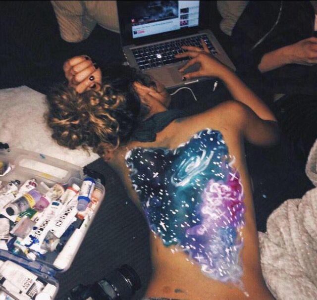The whole universe is inside her