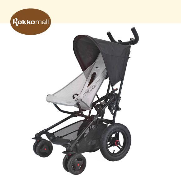 英國 Micralite摩登時尚推車/紅 (含透氣椅墊及雨罩)