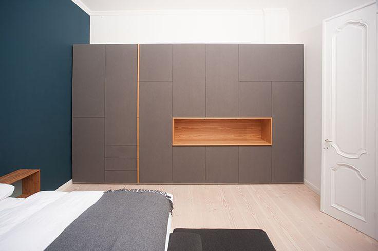 die besten 25 einbauschrank wohnzimmer ideen auf. Black Bedroom Furniture Sets. Home Design Ideas