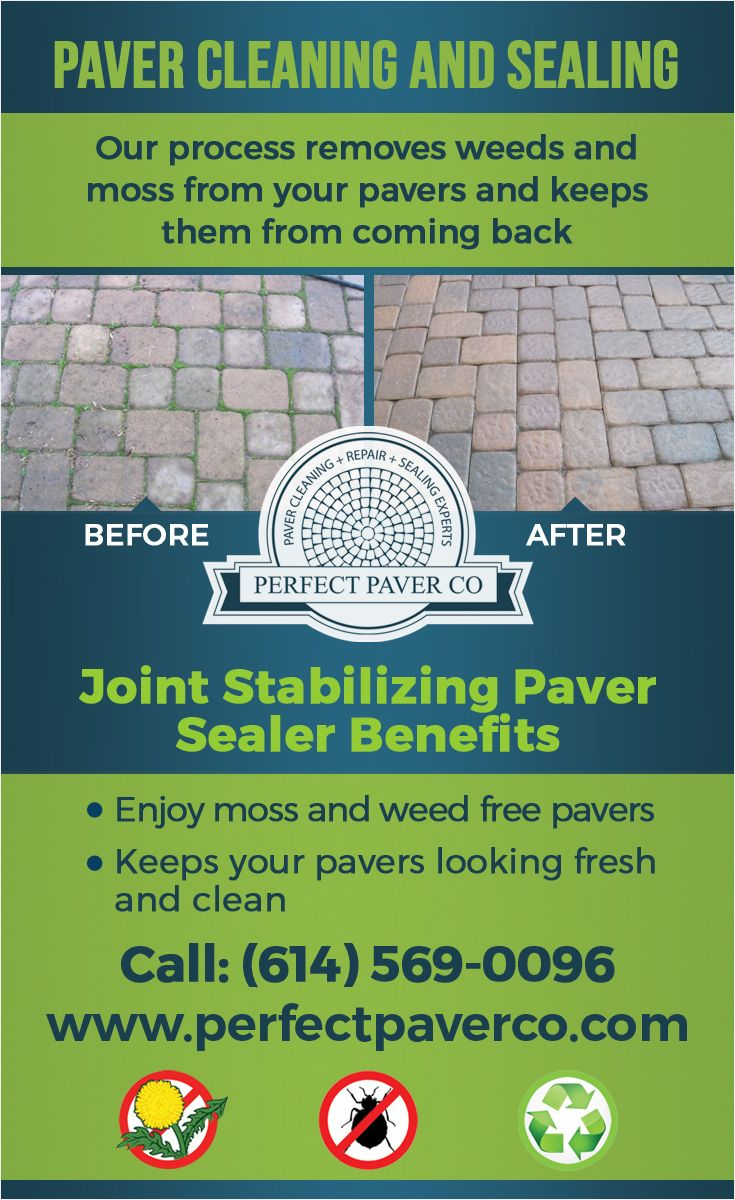 At The Perfect Paver Company, we specialize in cleaning and sealing paver patios and driveways. If your pavers are infested with weeds and covered with grime, hire us. Our Hot Water Deep Cleaning process blasts away years of build up on pavers and vegetation growing in the joints. We then seal your pavers with a color enhancing, stain protecting, weed preventing liquid polymeric sand paver sealer. Visit our website for pricing and to request an estimate. http://perfectpaverco.com