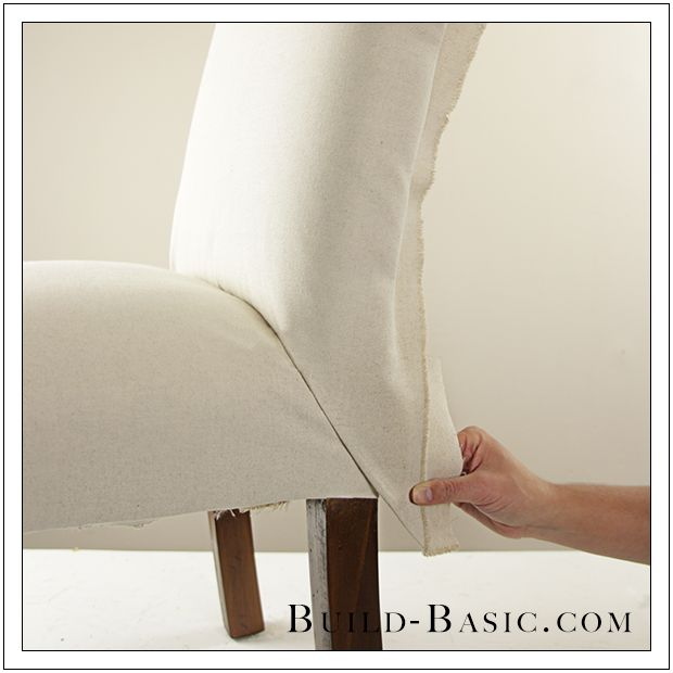 How To Re Cover A Dining Chair Part 3 By Build Basic   Step 8