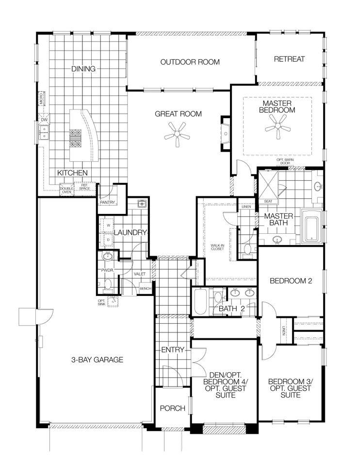 40 best Solstice by Meritage Homes images – Lewis Homes Floor Plans