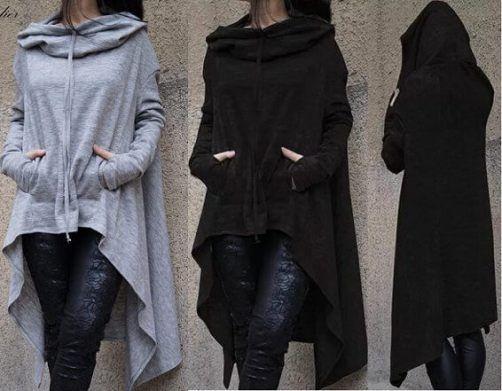 Patrón de sudadera con capucha para mujer - Patrones gratis