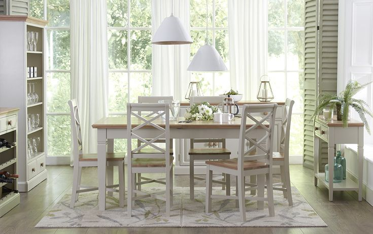 Country Cream Dining Set.