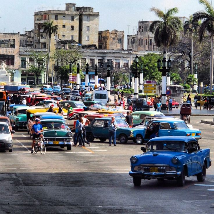 Cuba, carros de la historia