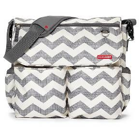 Skip Hop Dash Messenger Diaper Bag, Chevron : Target