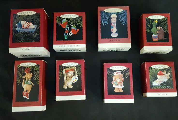Lot of 8 Hallmark Keepsake Ornaments 1993 EUC | Collectibles, Holiday & Seasonal, Christmas: Current (1991-Now) | eBay!