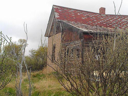 Abandoned House - Orion, Alberta