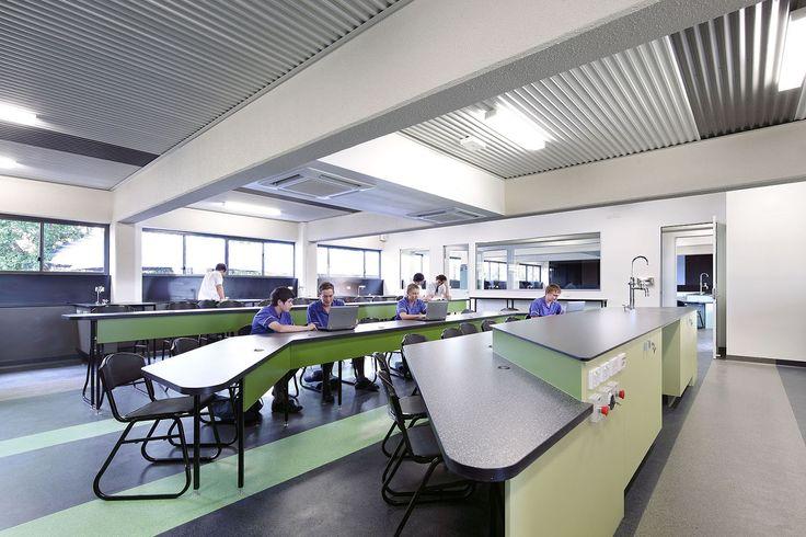 Modern School Classroom Design : St edmund s college science block architecture