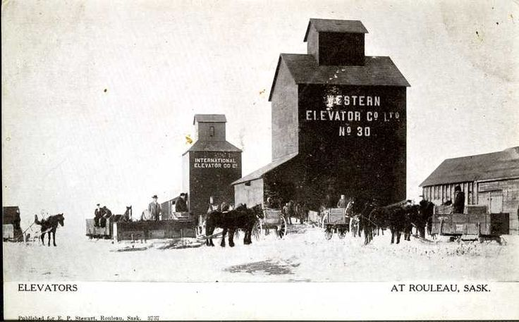 Rouleau, Sask - Vintage Saskatchewan - Photos - SaskPhotos.ca