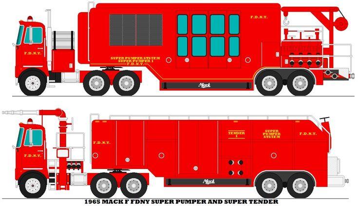 FDNY Super Pumper System by MisterPSYCHOPATH3001.deviantart.com on @DeviantArt
