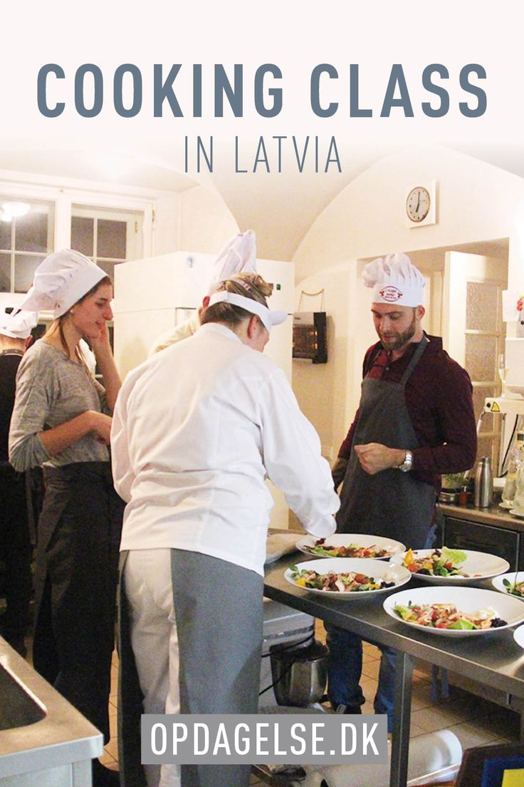 Cooking class in latvia