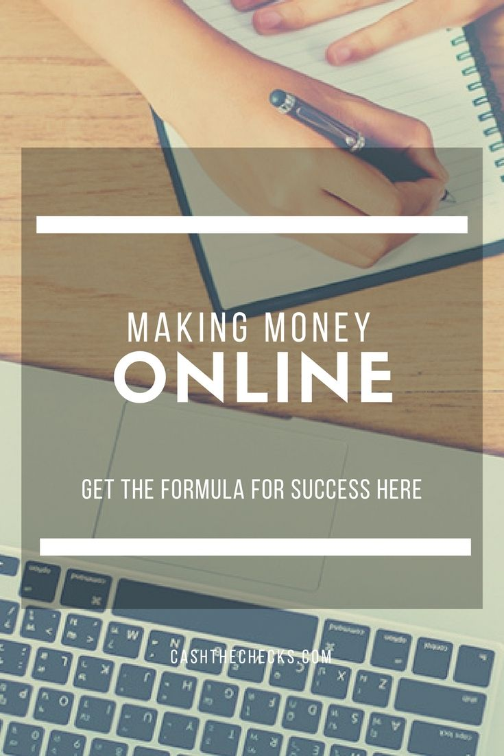 Making Money Online: 7 Steps For Success https://www.cashthechecks.com/formula-for-success/