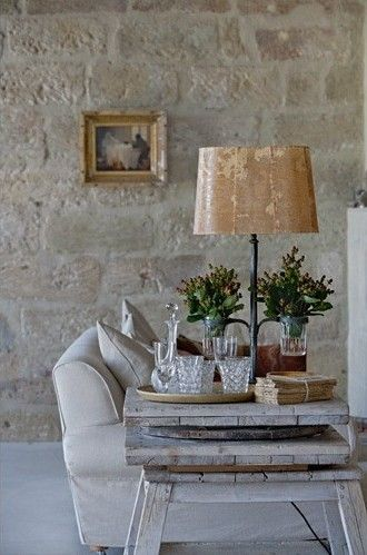 1000 images about stone on pinterest fireplaces for French country stone fireplace