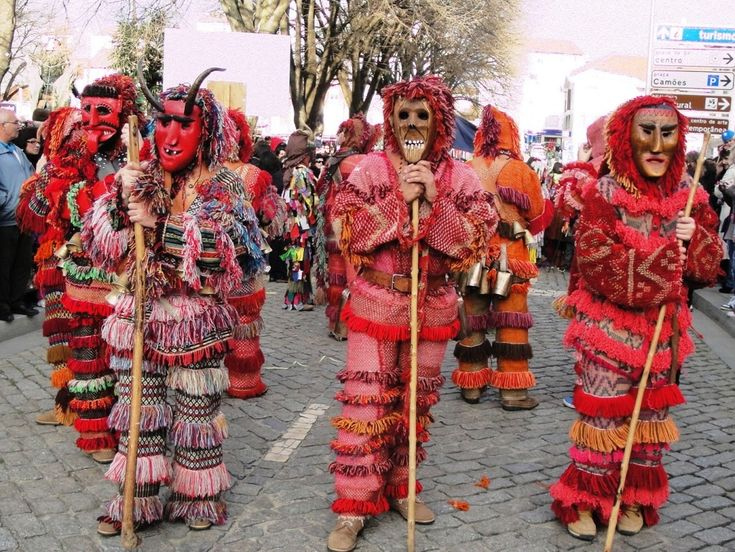 Winter solstice festivities of northeaster Portugal: Caretos de Podence