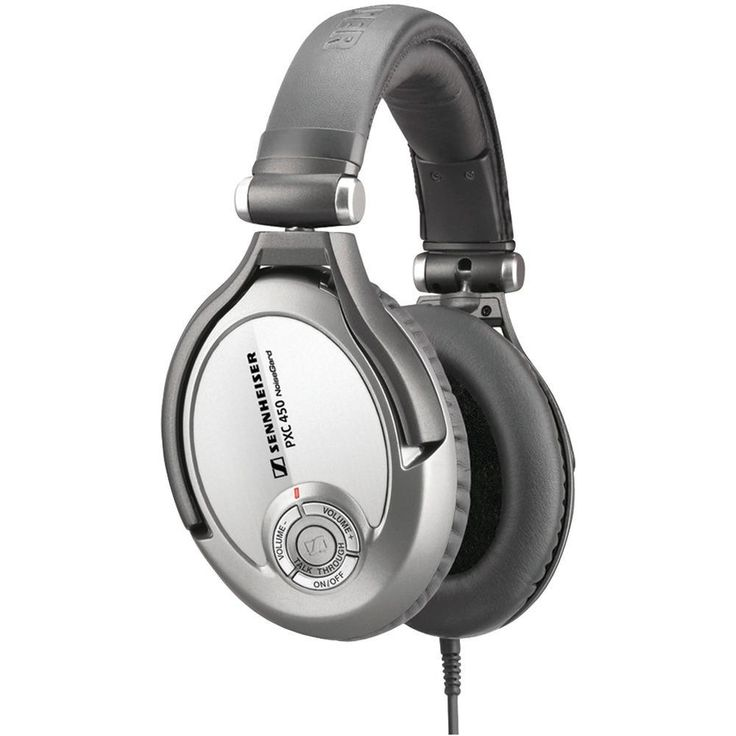 SENNHEISER 500643 Around-the-Ear Premium Collapsible Noise-Canceling Headphones with TalkThrough