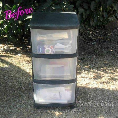Turn that boring storage into beautiful bins