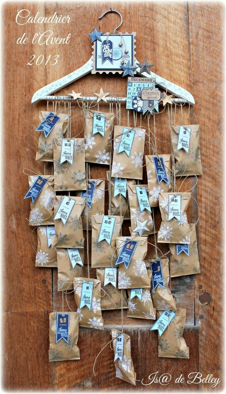 DIY advent calendar – the most beautiful ideas from simple to elaborate