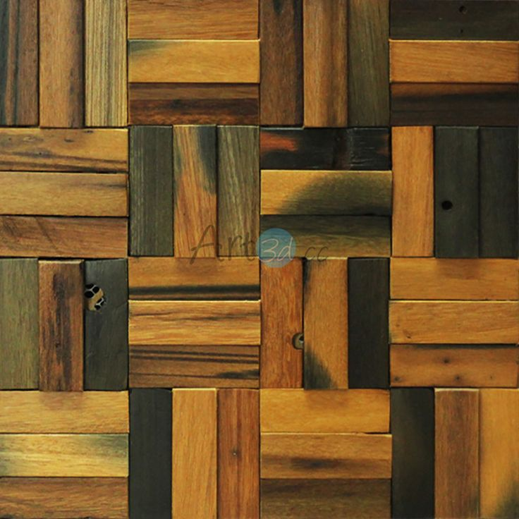 A15003 Decorative Reclaimed Wood Art Interior