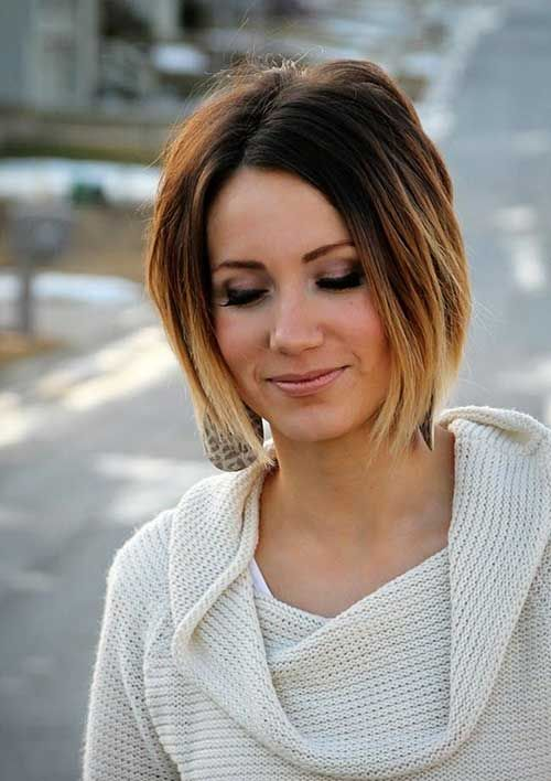 Women Short Ombre Hair