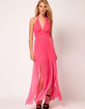 Enlarge Lipsy Hot Pink Maxi Dress  £70.00: Dress 70 00, Pink Dresses, Maxis, Lipsy Hot, Hot Pink, Pink Maxi Dresses