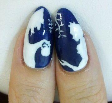 Navy Blue Evil vs. Princess Nails