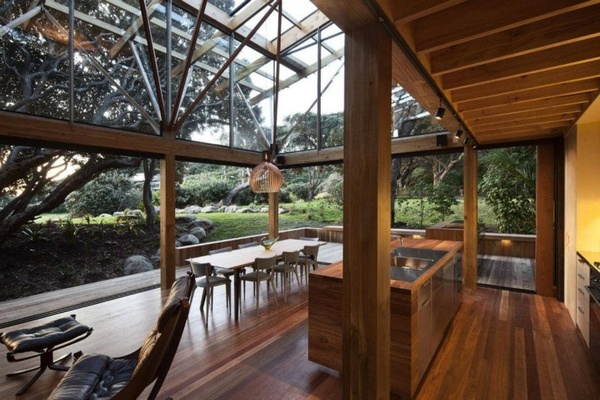 Pohutukawa / Herbst Architects: Wooden Houses, Dreams Kitchens, Cool Houses, Herbst Architects, Home Design, Beaches Houses, Natural Looks, Design Blog, New Zealand