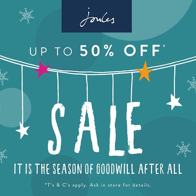 The Joules sale is now on with up to 50% off