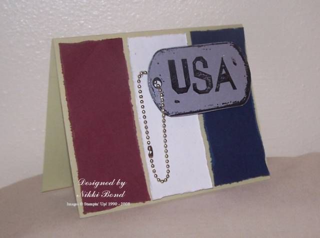 Late 4th of July card