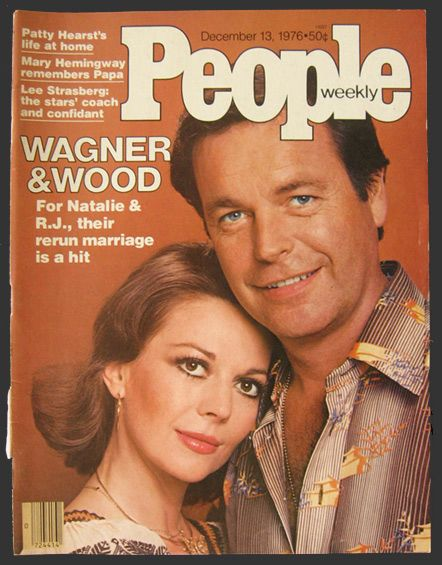 1976 People Magazine Cover ~ Robert Wagner & Natalie Wood