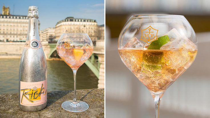 Sommarens fräschaste champagnedrink