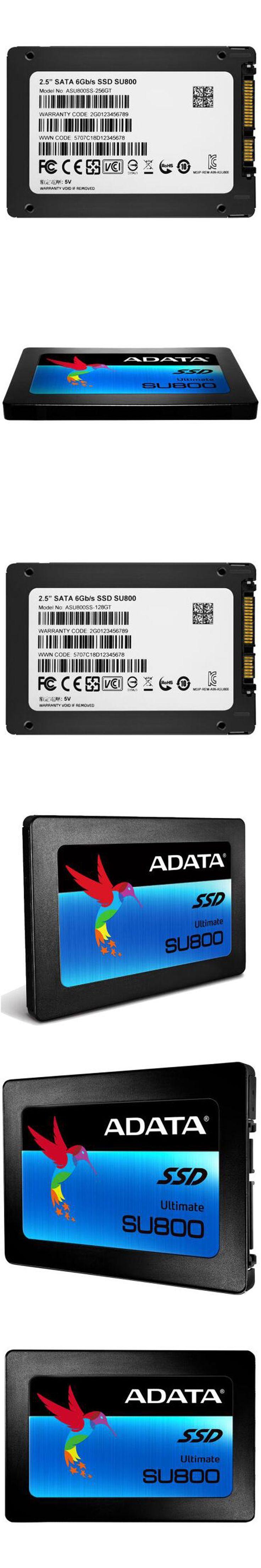 "Brand New ADATA 3D NANO SSD SU800 256GB 128GB 2.5"" Solid State Drive Solid HD Hard Drive Disk SATA3 hdd disk For Laptop Desktop"