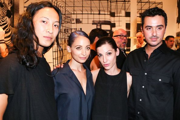 """Alexander Wang and Ryan Korban Photos Photos - (L-R) Fashion Designer Alexander Wang, TV personality Nicole Richie, stylist Nevena Borissova and interior designer Ryan Korban attend Nicole Richie, Eric Buterbaugh and Nevena Borissova host Ryan Korban's """"Luxury Redefined"""" on August 1, 2014 in Los Angeles, California. - 'Luxury Redefined' Party in LA"""