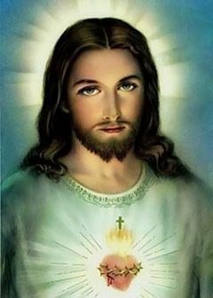 I think this has got to be my favorite picture of Jesus. My parents left this picture in their bible. I found it after they died.