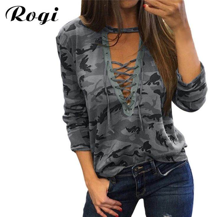 Like and Share if you want this  Rogi 2017 Women Camouflage Sweatshirt V-Neck Hoodies Pullovers Female Long Sleeve Bandage Tracksuits Jumper Tops Sudaderas Mujer     Tag a friend who would love this!     FREE Shipping Worldwide     Buy one here---> https://onesourcetrendz.com/shop/all-categories/womens-clothing/womens-hoodies-sweatshirts/rogi-2017-women-camouflage-sweatshirt-v-neck-hoodies-pullovers-female-long-sleeve-bandage-tracksuits-jumper-tops-sudaderas-mujer/
