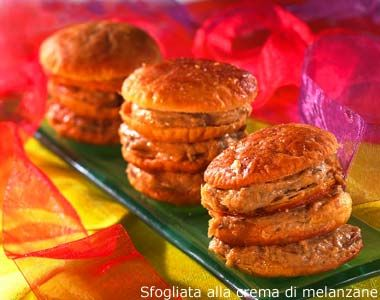 Sfogliata alla crema di melanzane, ricetta Sfogliata alla crema di melanzane - alfemminile.com