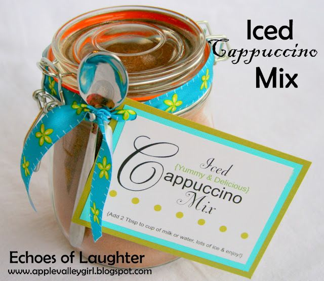 Iced Cappuccino Mix...