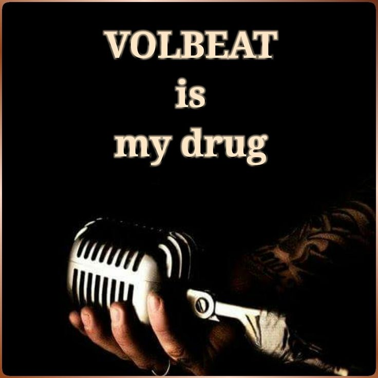 6 may - volbeat makes me run fast today!