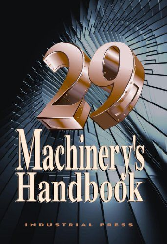 Machinery's Handbook 29th Edition Larger Print and CD-ROM Combo