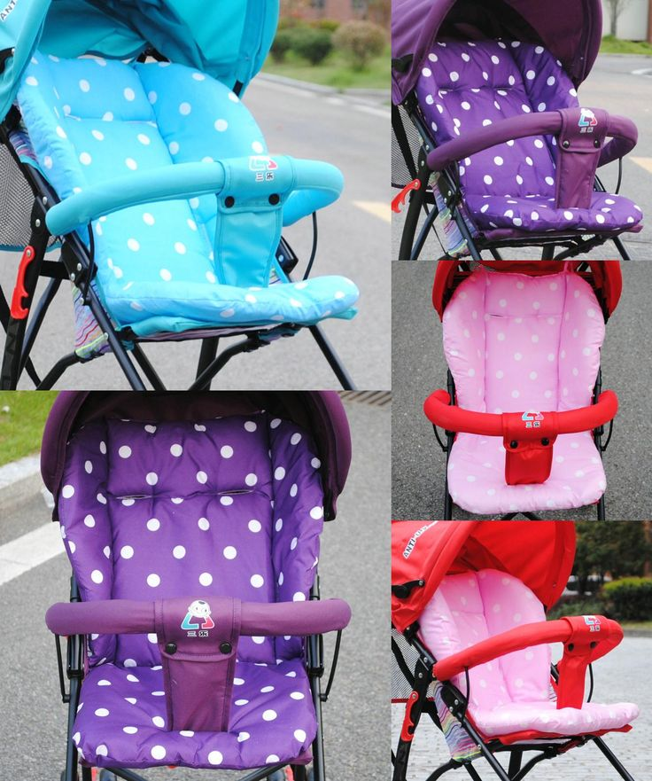 [Visit to Buy] 5 Colors Cheap Baby Stroller Cushion, Pram Padding Liner/Car Seat Pad Waterproof Child Pushchair Feeding Chair Thick Mat #Advertisement