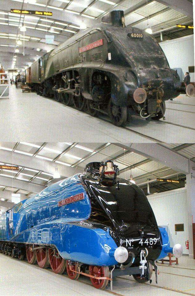 before and after @ shildon