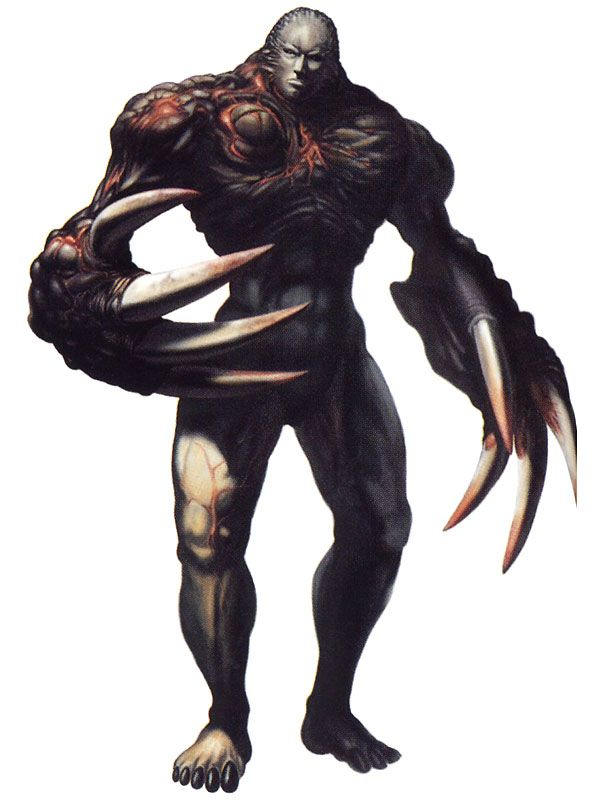 Resident Evil 2 - Super Tyrant (shit... lol i remember having a hard time killing this guy..)