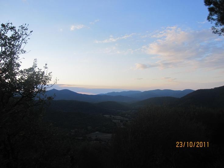 Sunset from Buriano, Castiglione della Pescaia, #maremma, #tuscany, #italy