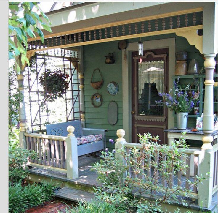 Porches Wrap Around Porches And Victorian On Pinterest: 72 Best Victorian Porch Designs Images On Pinterest