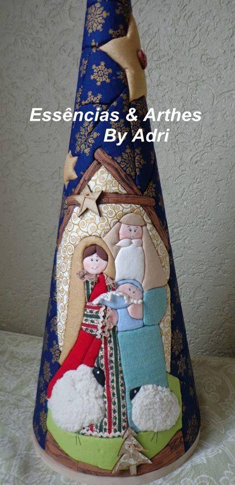 Cone Natal (isopor)