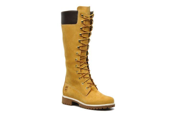 Timberland Women's Premium 14 inch (Giallo) - Stivali su Sarenza.it (111714)