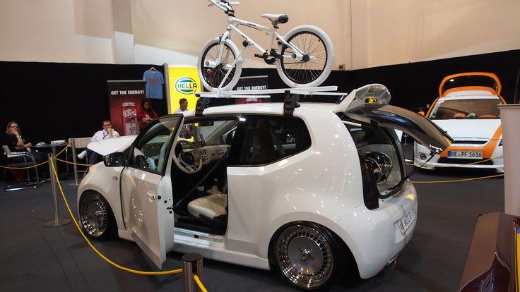 Volkswagen UP White Tuning at Essen Motorshow - Exterior Walkaround