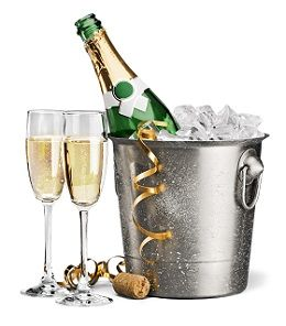 Serving free champagne to all our VIP ticket holders and guests.